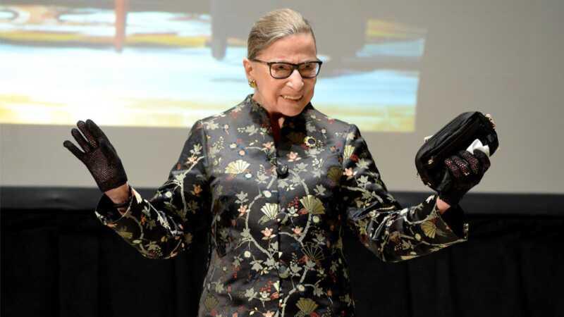 Ruth Bader Ginsburg är vår mamma-valentin