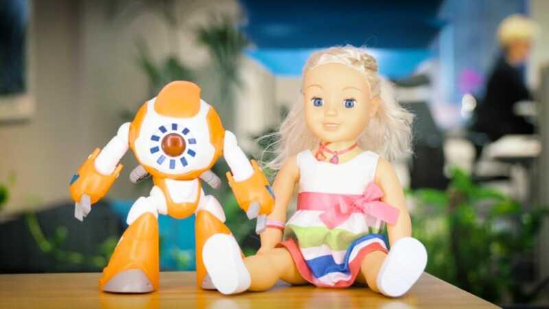 Disse taler dukker kan være spionere på dine børn