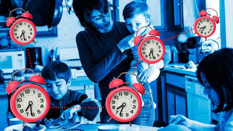 Nikada ne kasni: jutarnji hakeri od mame od 5 godina