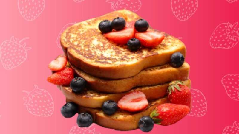 Veganský toastový francúzsky toast, ktorý ukončí všetky vaše raňajky