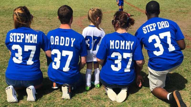 Denne blandede fodboldfamilie er alle målene