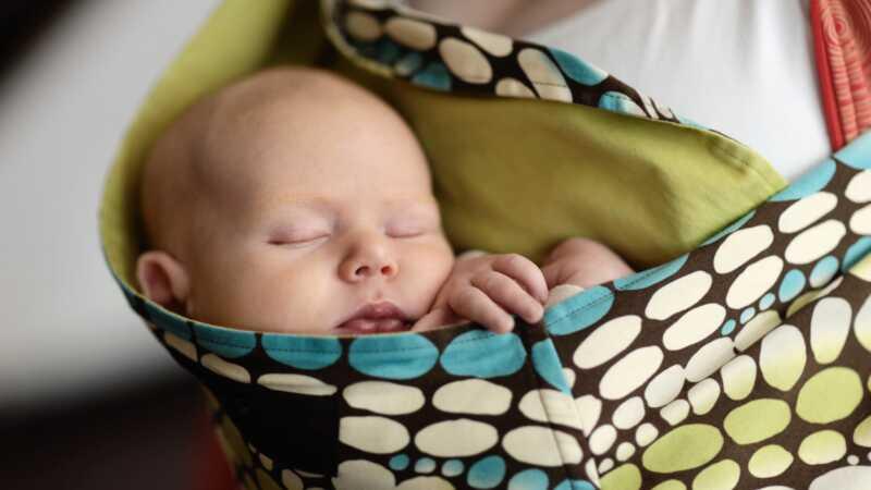 Babywearing fikk meg til å føle meg som en Badass etter fødselen