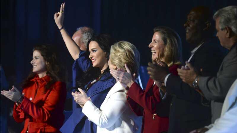 Katy Perry įkvepia mūsų naują po rinkimų ralio šauksmą