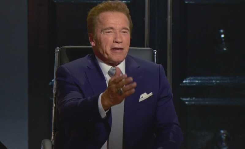 Älä alenna Arnold schwarzeneggeria julkkisoppilaan uutena johtajana