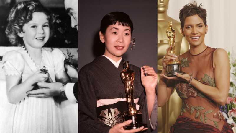Vēstures sievietes Oskara grafiks uzvar visā vēsturē