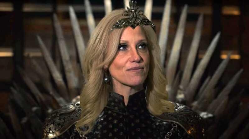 Samantha bitė yra vietoje su savo kellyanne conway ir cersei lannister palyginimas