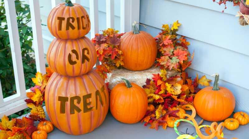 15 halloween veranda dekorera idéer som är spöklika och söta - men inte ostliknande