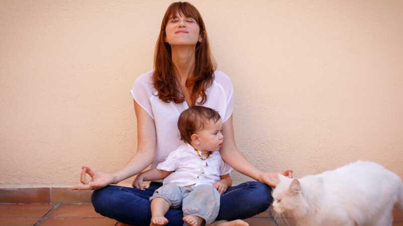 Kako sam pronašao unutrašnji mir na jogi mat s mojim Toddlerom