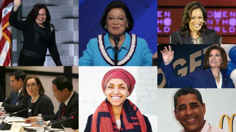 Ženy a menšiny provedly včera v senátu USA historii