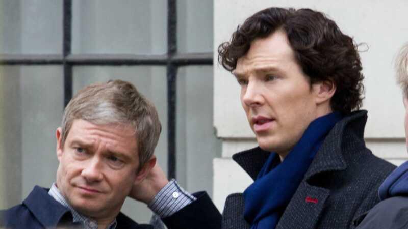 Sherlock je razbio Internet - a to se dogodilo zagrljajem