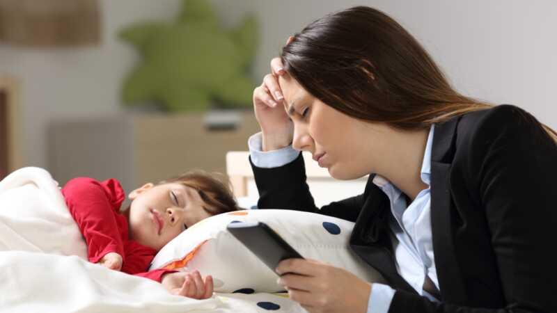 Er din giftige medarbeider ondt i forholdet til dine børn?