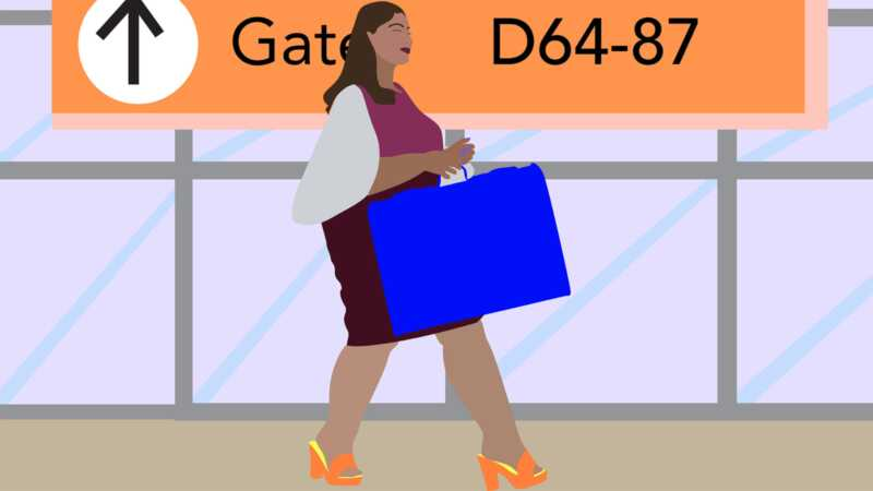 Kāpēc ceļojums var būt tik murgs sievietēm ar lielu izmēru