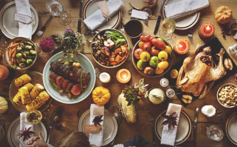 15 vďakyvzdania z vašich obľúbených kuchárov