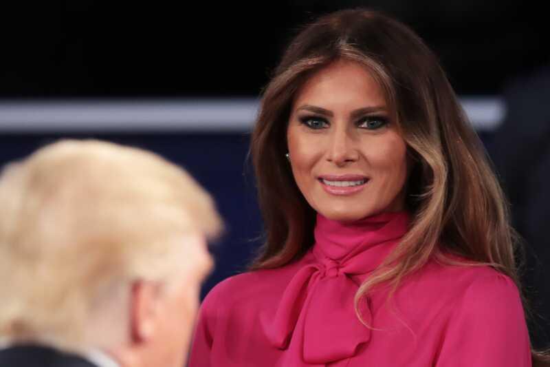 Melanija Trump kriva Hillary Clinton i mediji za razgovor dečaka Donalda Trumpa