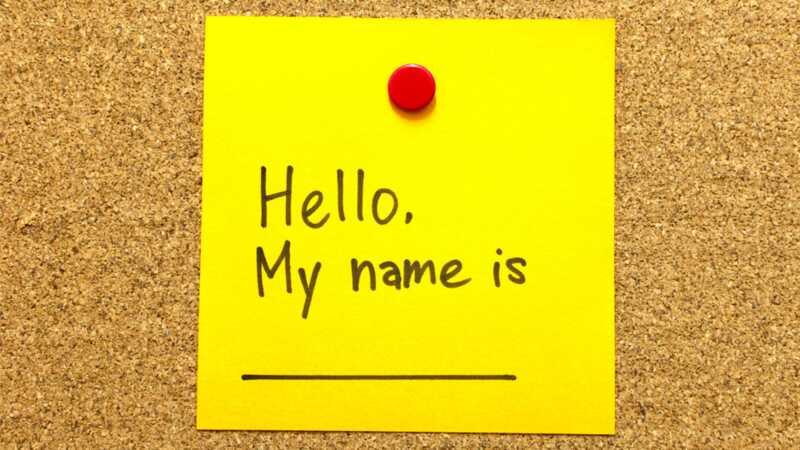 Moj prijatelj pogrešno prezime ime mog sina