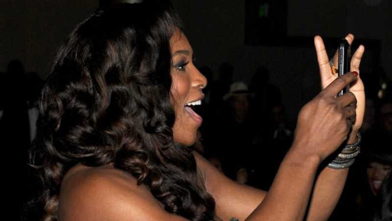 Serena Williams mazulim ir sava instagram - viņas vecāki vada