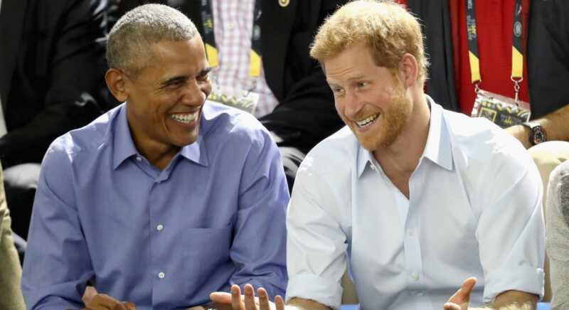 Barack Obama teasing princis Harijs pirms intervija ir viss