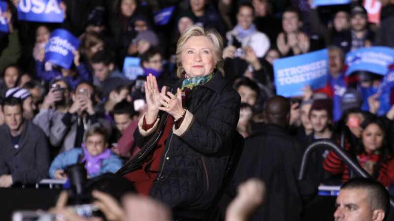 De ekle kvinnene på Hillary Clinton samlinger er ganske fine