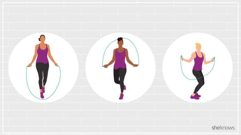10 ασκήσεις σχοινιού άλματος επειδή το καρδιο που είναι διασκεδαστικό εξακολουθεί να μετράει