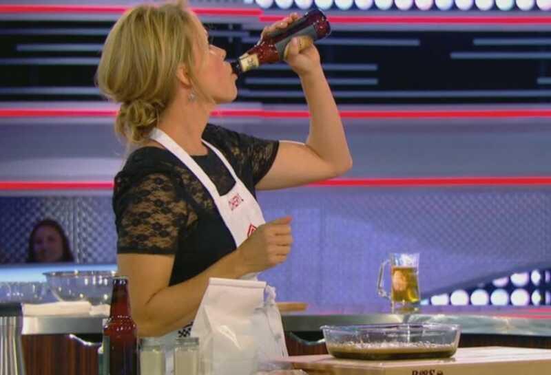 Cheryl Hines pavogė šou Masterchef Celebrity Showdown