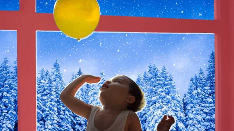 Roliga sätt att hålla barnen aktiva när det fryser ut