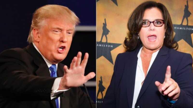 Donald Trumpi ja Rosie odonnelli kümneaastase viha ajaskaala