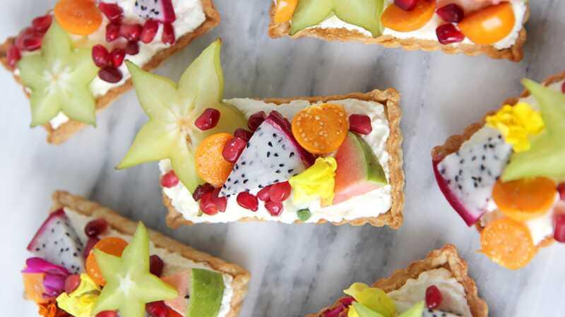 10 egzotikus gyümölcs desszert (szinte) túl szép enni