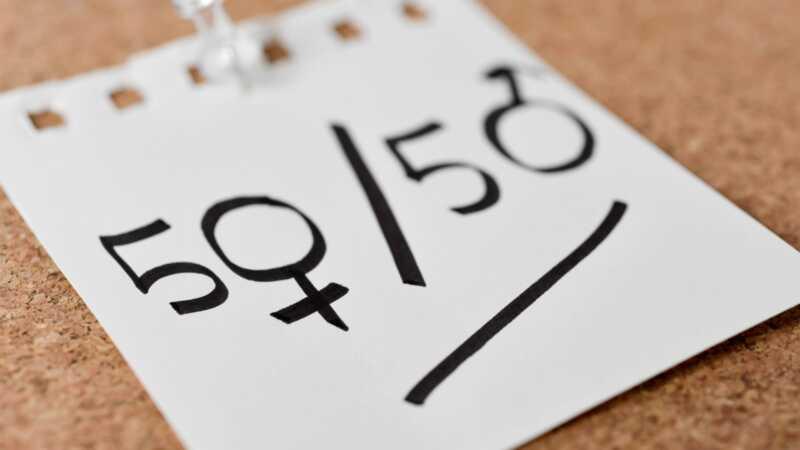 Saremo in grado di viaggiare nel tempo prima di raggiungere la parità di genere sul posto di lavoro?