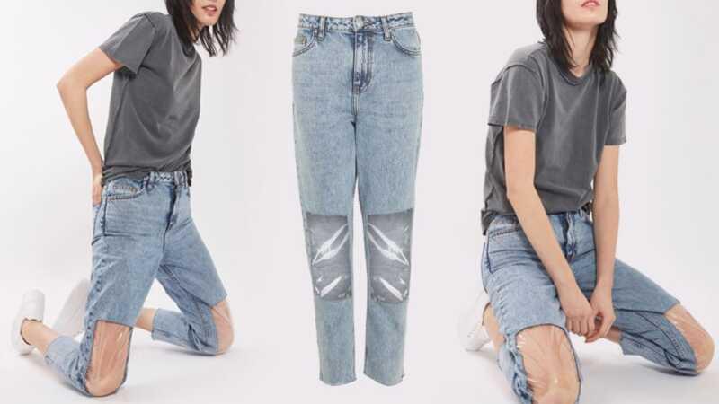 Klar knæ mamma jeans: den mode hæftning vi aldrig har brug for