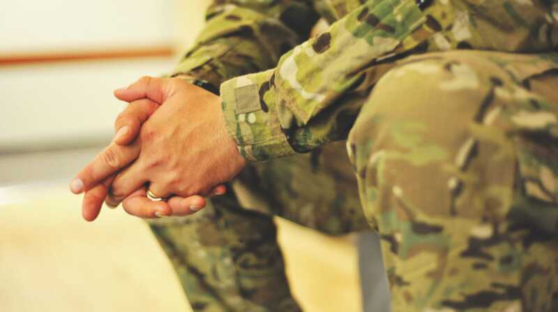 Ma kardan, aga ma ei suutnud oma mehe sõjaväelistele unistustele öelda Ei