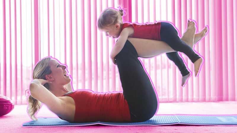 Čo sa zmenilo po cvičení po pôrode