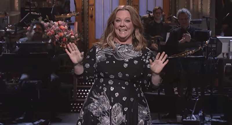 Melissa McCarthy levererade Sean Spicer på Snl & det var strålande