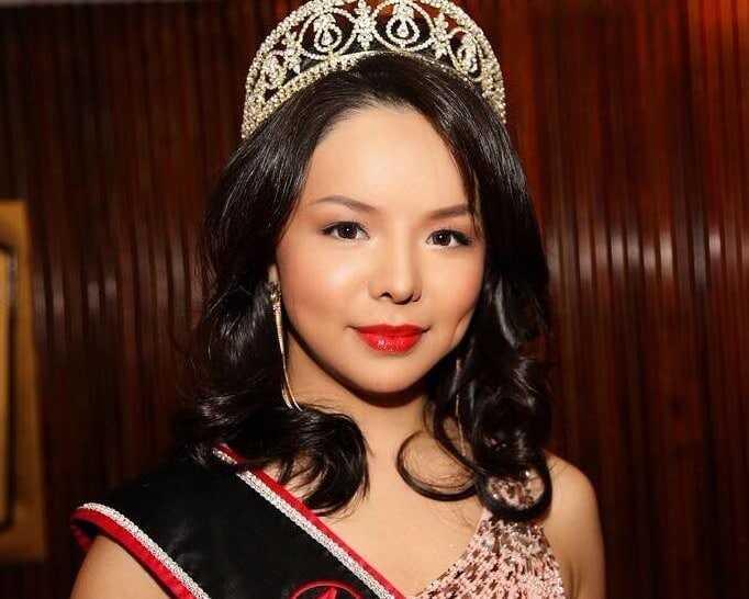 Anastasia Lin - tai išreikšta grožio karalienė, kuria nori visame pasaulyje