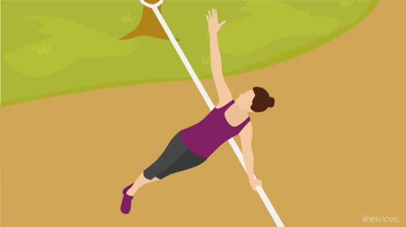 Superfun slackline trening vil gjøre dine trente øvelser nye igjen