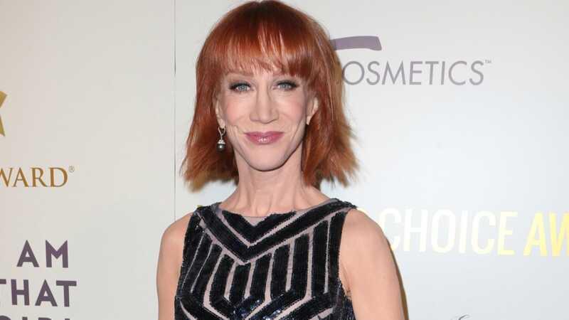 Kathy Griffin korraldab pressikonverentsi, et mängida ohvritekaardi häda on mind