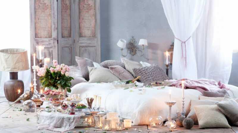 8 idees dhabitacions romàntiques a temps per als dies de Sant Valentí