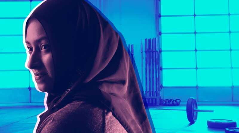 7 lietas, kas jāzina par iedvesmojošu sieviešu-musulmaņu svarcelšanu Amna al haddad