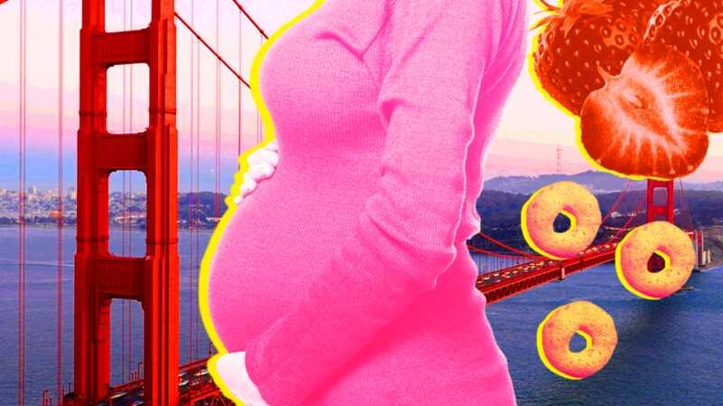 Prva mama koja je trudna dok je 3.000 milja daleko od porodice