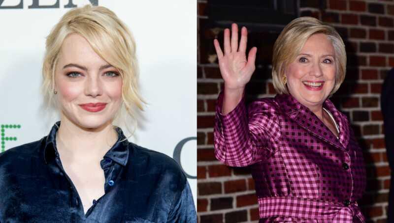 Emma Stone & Hillary Clinton ir ar saviem sapņiem