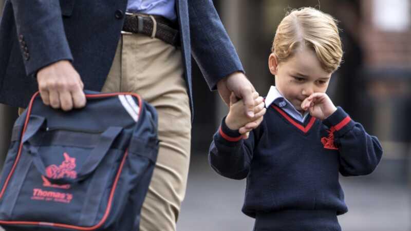 El príncep Guillem és baix en clau sobre la violació de la seguretat a lescola de George