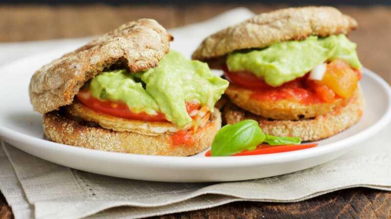 16 engelsk muffin frokoster som er super deilig