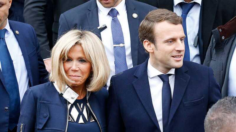 Kodėl visi yra apsėstas Emmanuelio makrono žmonos amžiumi?