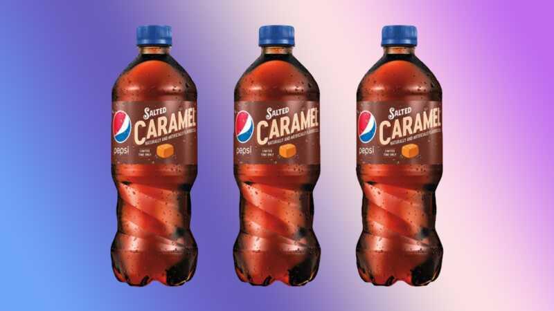 Pepsi właśnie wypuścił soloną karmelową sodę, a ludzie mają myśli