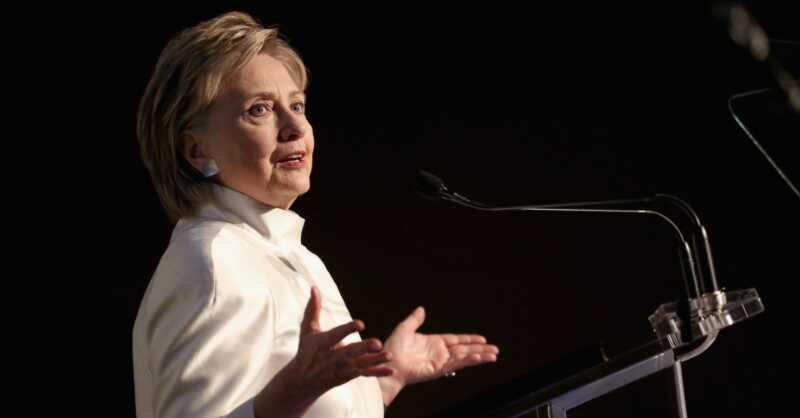 Hillary Clinton se počuti, kot da je pustila vse navzdol na volilni večer