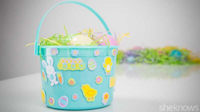 Adorable domaće uskrsne košare možete to učiniti sami u trenu