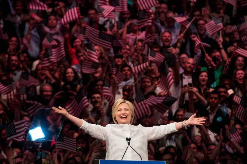 96 évvel azután, hogy a nők megkapták a szavazást, végül elintézem egy női elnököt