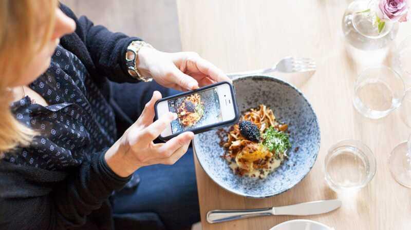 Instagramming din mat kan hjälpa dig att äta friskare