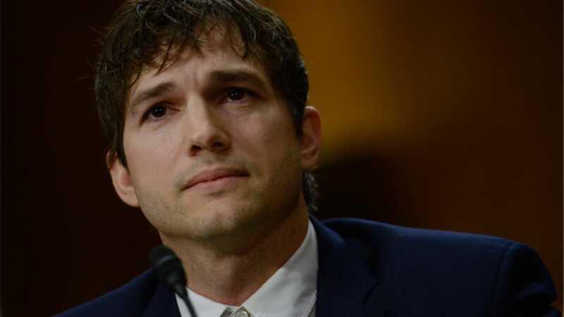 Ashton Kutcher bekämpar barnslaveri och sexhandel