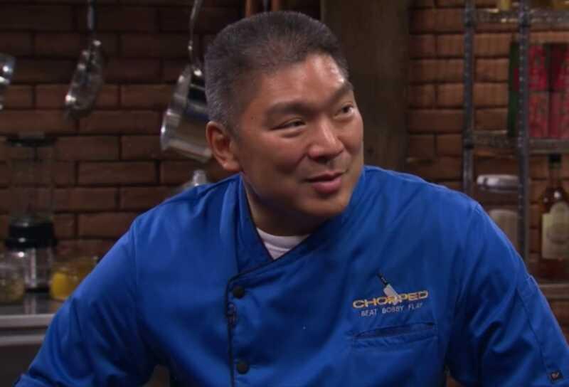 Pavārmākslinieks Staim Kamimura vajadzēja uzvarēt sasmalcinātus: pārspēt Bobby Flay