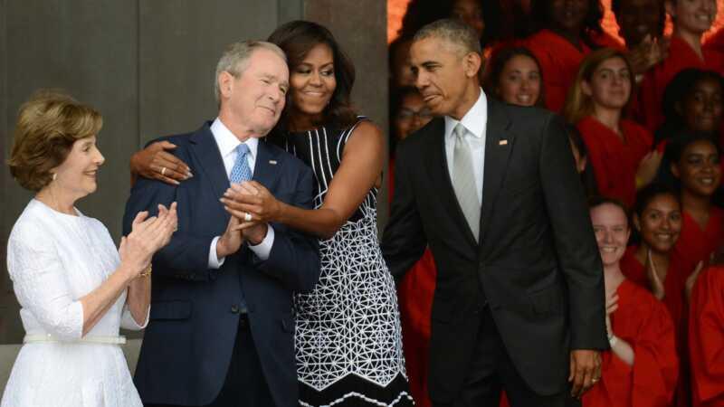 George w. Buš voli ovo predsedništvo Donalda Trumpa